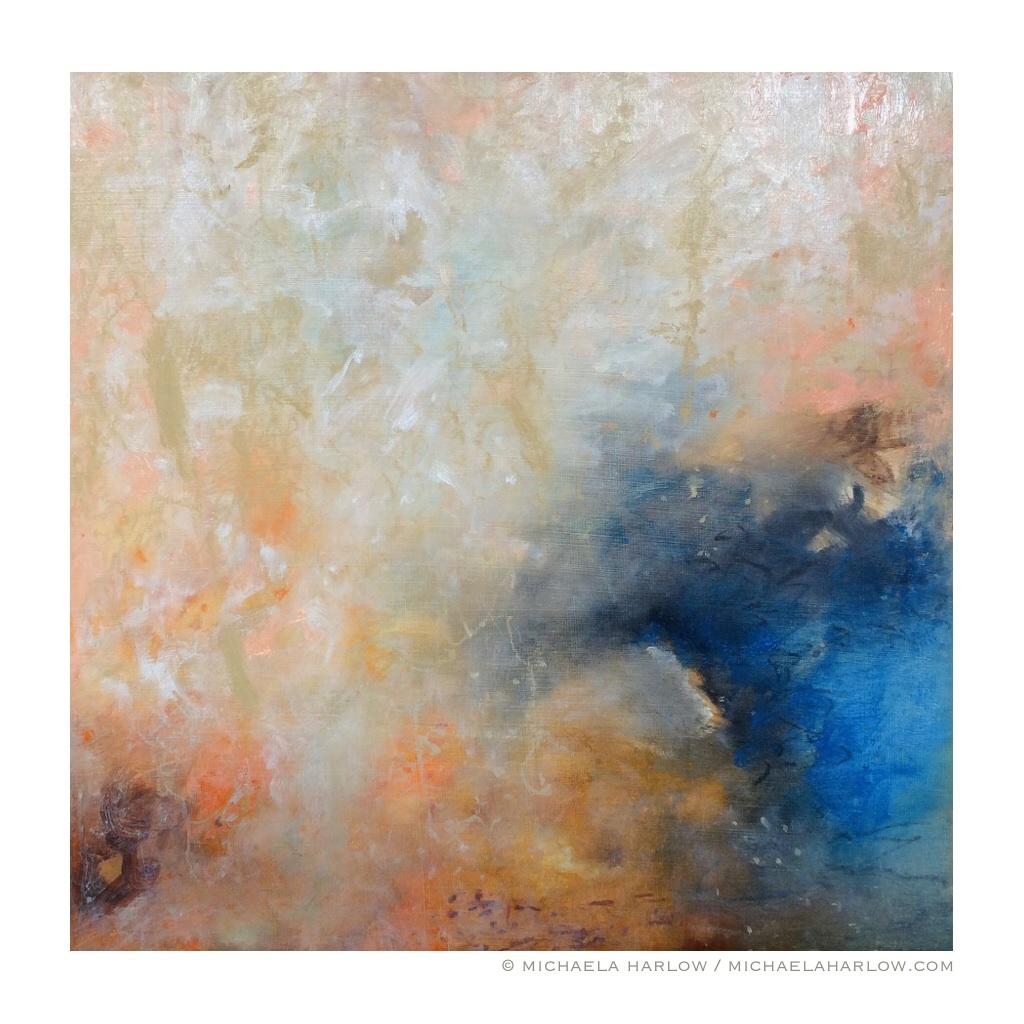 Ice Breaker, 2015. Oil on Wood Panel.