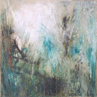 Bayou l, 2008. Oil on Wood Panel.